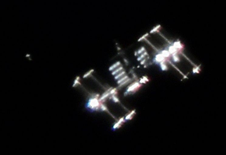 Ralf Vandebergh ISS photo